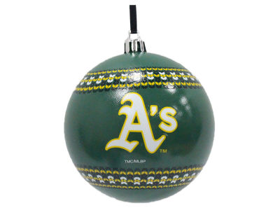 "Oakland Athletics 3"" Ugly Sweater Ornament"