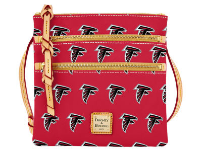 Atlanta Falcons Dooney & Bourke Triple Zip Crossbody Bag