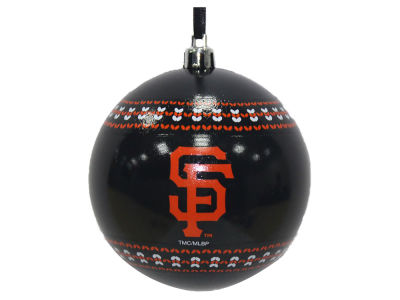 "San Francisco Giants 3"" Ugly Sweater Ornament"