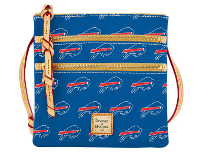 Buffalo Bills Dooney & Bourke Triple Zip Crossbody Bag