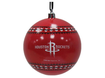 "Houston Rockets 3"" Ugly Sweater Ornament"