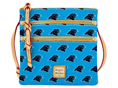 Carolina Panthers Dooney & Bourke Triple Zip Crossbody Bag