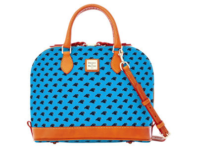 Carolina Panthers Dooney & Bourke Zip Zip Satchel