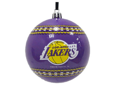 "Los Angeles Lakers Memory Company 3"" Ugly Sweater Ornament"