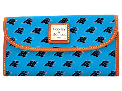 Carolina Panthers Dooney & Bourke Continental Clutch
