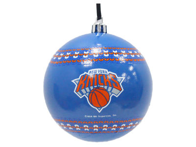"New York Knicks 3"" Ugly Sweater Ornament"