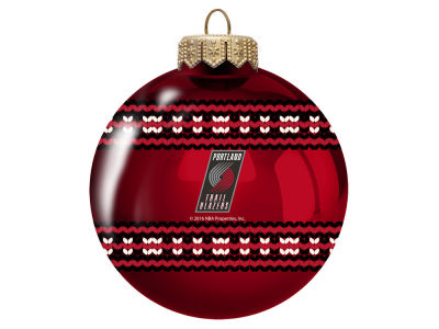 "Portland Trail Blazers 3"" Ugly Sweater Ornament"
