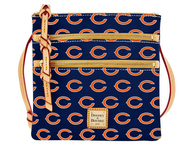 Chicago Bears Dooney & Bourke Triple Zip Crossbody Bag