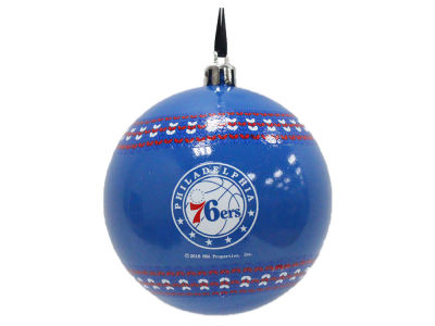 "Philadelphia 76ers 3"" Ugly Sweater Ornament"