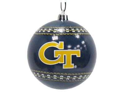 "Georgia-Tech 3"" Ugly Sweater Ornament"