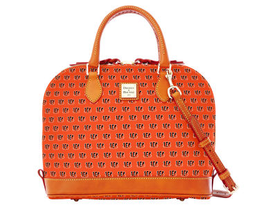 Cincinnati Bengals Dooney & Bourke Zip Zip Satchel
