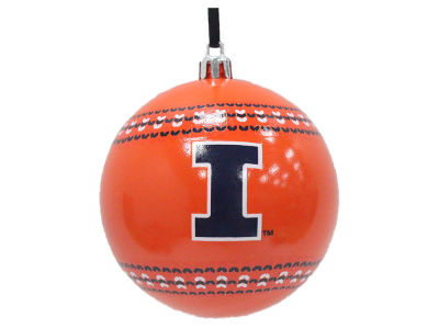 "Illinois Fighting Illini 3"" Ugly Sweater Ornament"