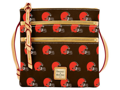 Cleveland Browns Dooney & Bourke Triple Zip Crossbody Bag