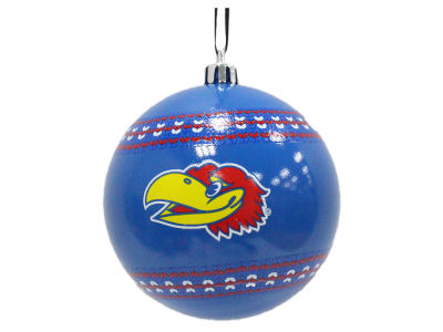 "Kansas Jayhawks 3"" Ugly Sweater Ornament"