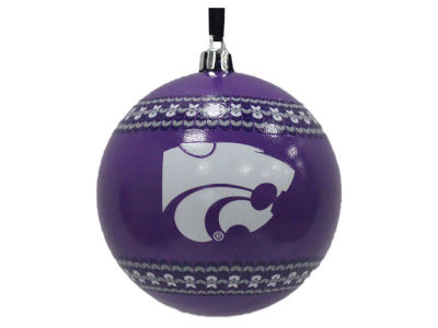 "Kansas State Wildcats 3"" Ugly Sweater Ornament"