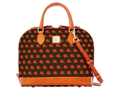 Cleveland Browns Dooney & Bourke Zip Zip Satchel