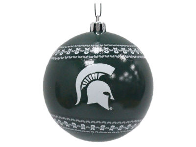 "Michigan State Spartans 3"" Ugly Sweater Ornament"
