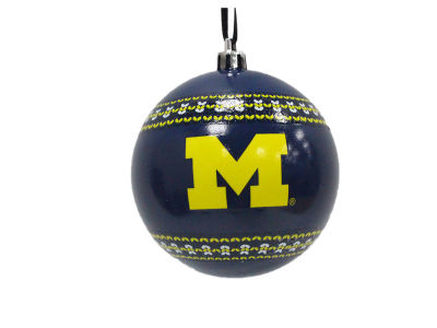 "Michigan Wolverines 3"" Ugly Sweater Ornament"
