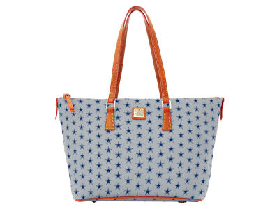 Dallas Cowboys Dooney & Bourke Zip Top Shopper