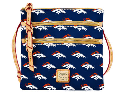 Denver Broncos Dooney & Bourke Triple Zip Crossbody Bag
