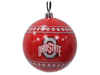 "Ohio State Buckeyes 3"" Ugly Sweater Ornament"