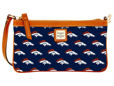Denver Broncos Dooney & Bourke Large Wristlet