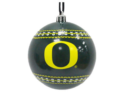 "Oregon Ducks 3"" Ugly Sweater Ornament"