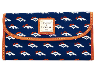 Denver Broncos Dooney & Bourke Continental Clutch