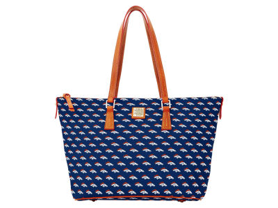 Denver Broncos Dooney & Bourke Zip Top Shopper