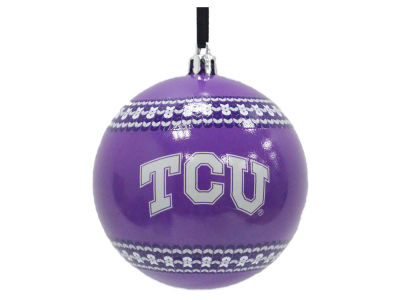 "Texas Christian Horned Frogs Memory Company 3"" Ugly Sweater Ornament"