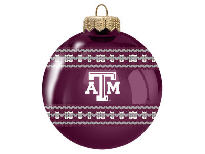 "Texas A&M Aggies 3"" Ugly Sweater Ornament"