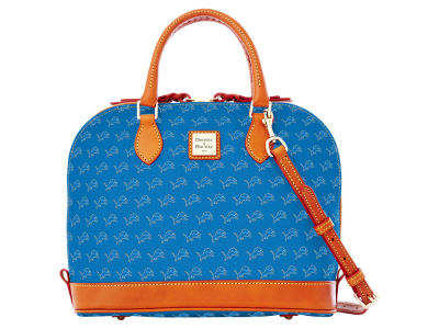 Detroit Lions Dooney & Bourke Zip Zip Satchel