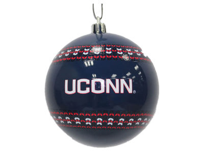 "Connecticut Huskies 3"" Ugly Sweater Ornament"