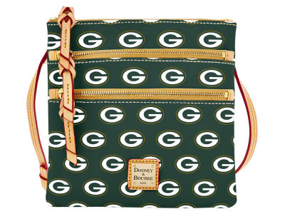 Green Bay Packers Dooney & Bourke Triple Zip Crossbody Bag