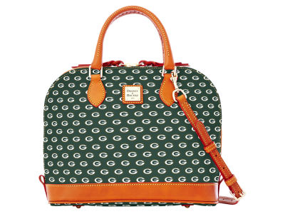 Green Bay Packers Dooney & Bourke Zip Zip Satchel