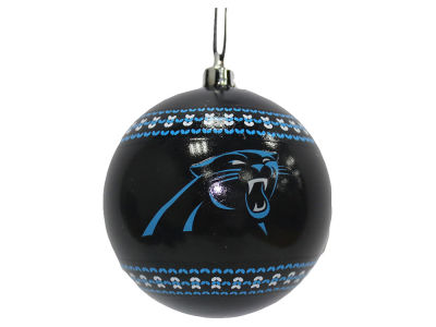 "Carolina Panthers 3"" Ugly Sweater Ornament"