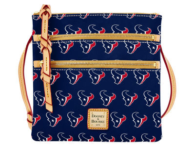 Houston Texans Dooney & Bourke Triple Zip Crossbody Bag