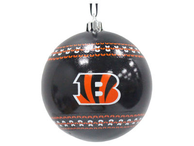 "Cincinnati Bengals Memory Company 3"" Ugly Sweater Ornament"