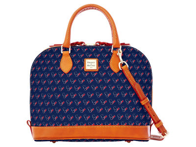 Houston Texans Dooney & Bourke Zip Zip Satchel