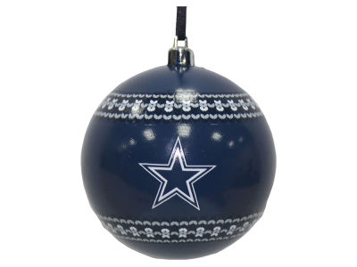 "Dallas Cowboys 3"" Ugly Sweater Ornament"