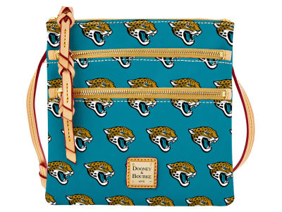 Jacksonville Jaguars Dooney & Bourke Triple Zip Crossbody Bag