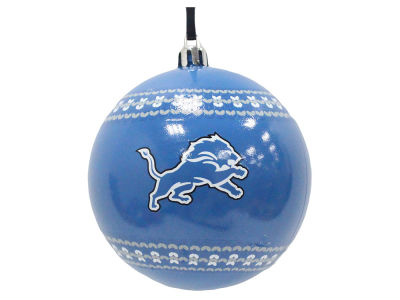 "Detroit Lions 3"" Ugly Sweater Ornament"