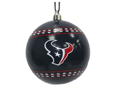 "Houston Texans Memory Company 3"" Ugly Sweater Ornament"