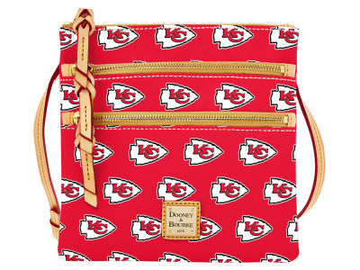 Kansas City Chiefs Dooney & Bourke Triple Zip Crossbody Bag