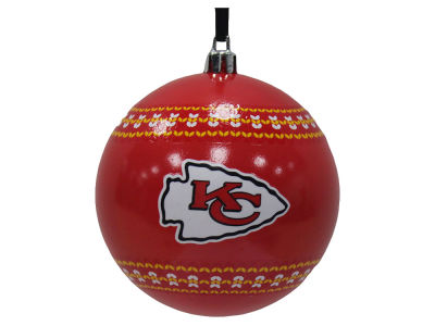 "Kansas City Chiefs 3"" Ugly Sweater Ornament"