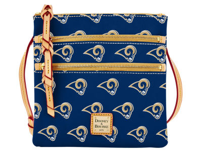 Los Angeles Rams Dooney & Bourke Triple Zip Crossbody Bag