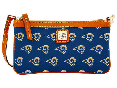Los Angeles Rams Dooney & Bourke Large Wristlet