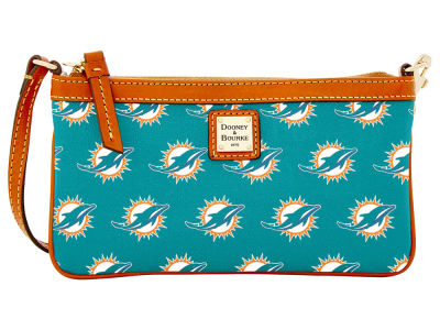 Miami Dolphins Dooney & Bourke Large Wristlet