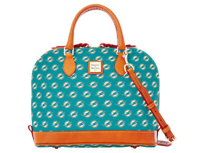 Miami Dolphins Dooney & Bourke Zip Zip Satchel