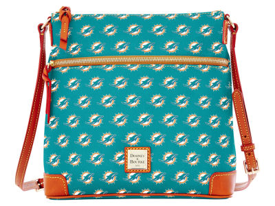 Miami Dolphins Dooney & Bourke Crossbody Purse